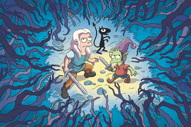 Netflix August 2018 films movies Matt Groening Disenchantment