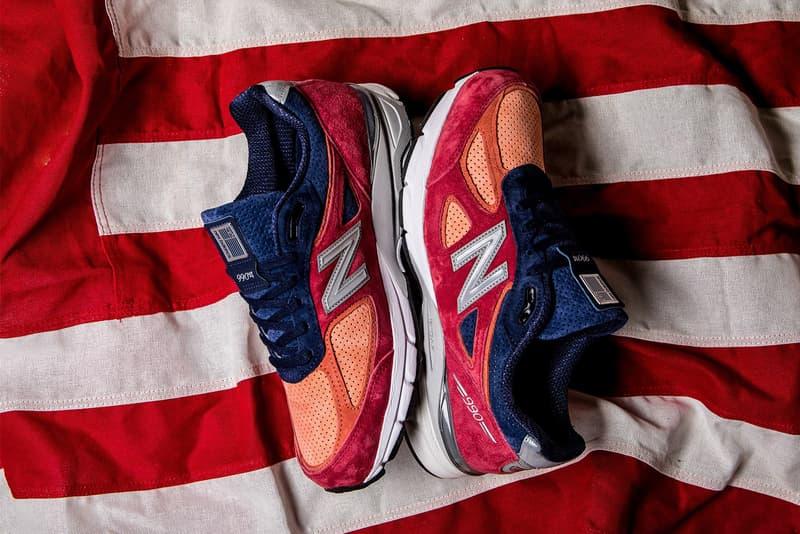 new balance 990 v4 copper rose pigment 2018 july footwear