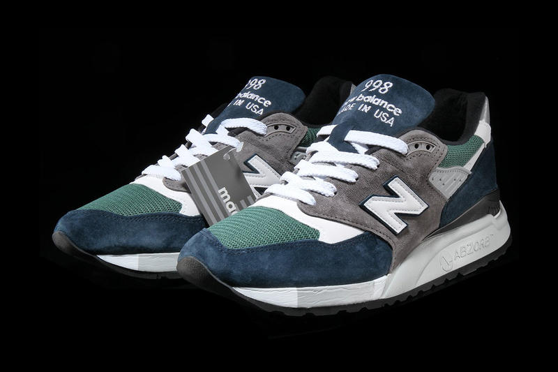 New Balance 998 Teal Navy Release Details Footwear Shoes Trainers Sneakers Kicks Available Cop Purchase Buy Now