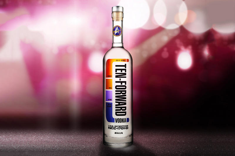 Star Trek Ten-Forward Vodka Comic-Con Debut Silver Screen Bottling Company CBS The Next Generation