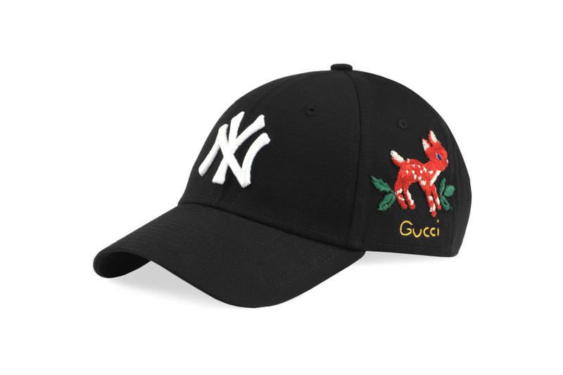 new york yankees gucci caps headwear accessories fashion style luxury  designer 4474a60b384