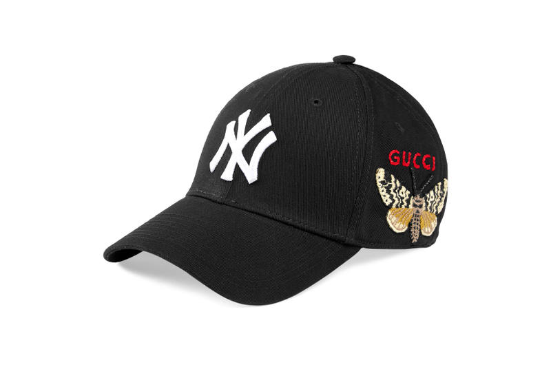 new york yankees gucci caps headwear accessories fashion style luxury  designer 26e704ae149