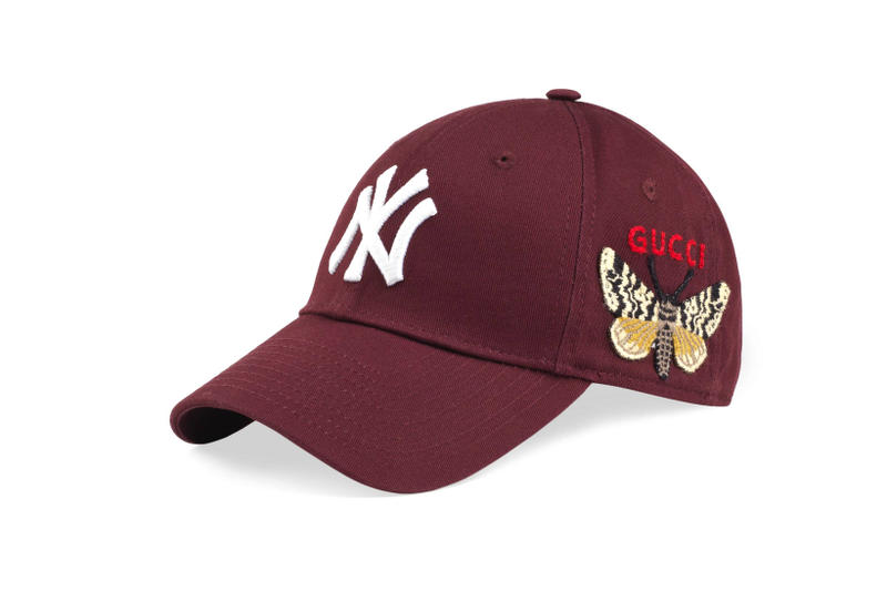 new york yankees gucci caps headwear accessories fashion style luxury  designer e082d48065e