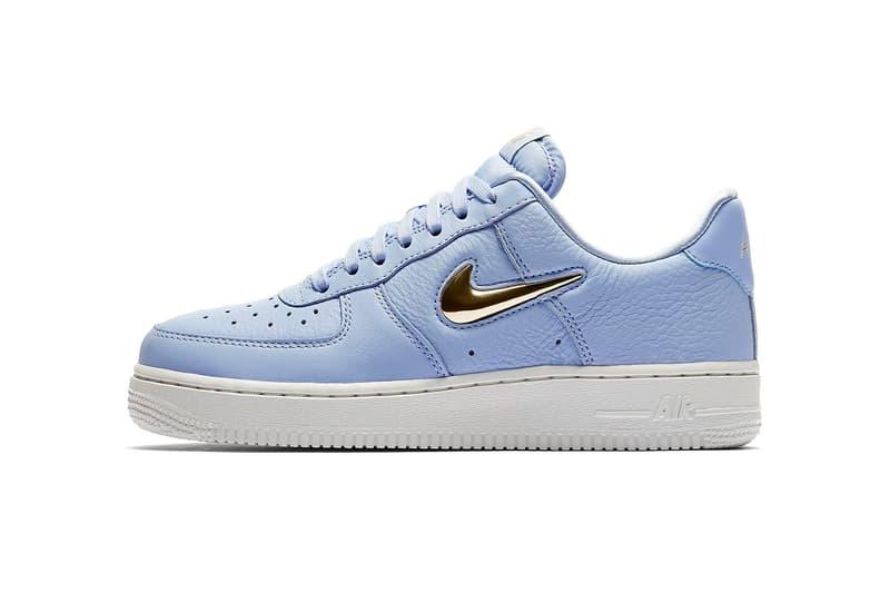release date: 97342 f0cca New gems from the Swoosh. nike air force 1 jewel nike sportswear footwear  2018 july royal tint phantom neutral olive