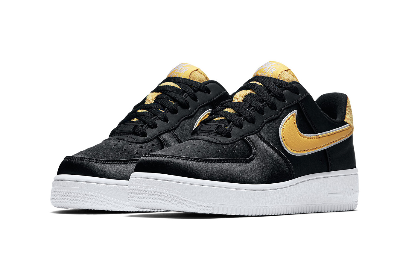 Nike\u0027s Air Force 1 Low Gets Elevated in Satin