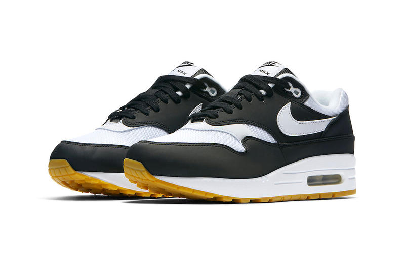 Nike Air Max 1 Black White Gum Sole Release Official Images