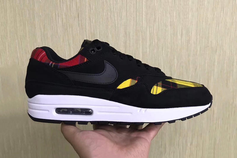 """Nike's Air Max 1 Gets Dressed in """"Plaid"""""""