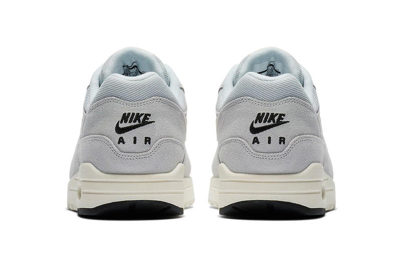 Nike Air Max 1 Mini Swoosh Pure Platinum Sail release info sneakers footwear