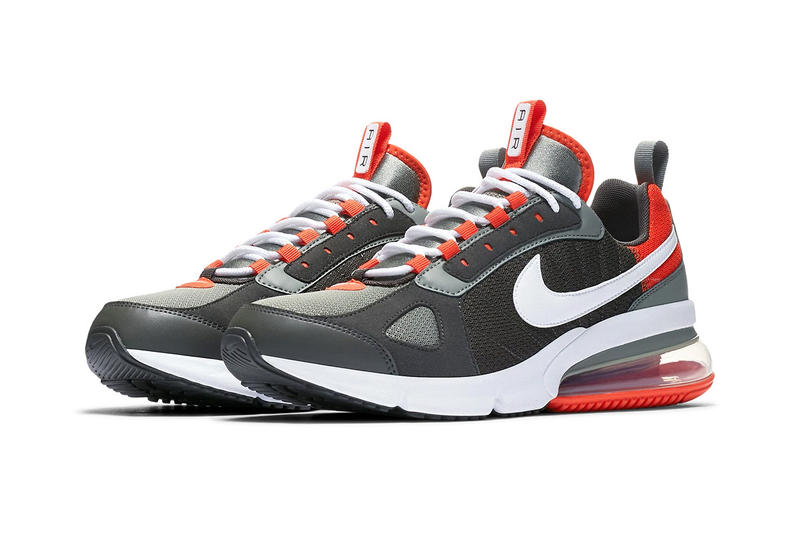 "Nike Air Max 270 Futura ""Dark Stucco/Newsprint"" orange colorway sneaker footwear release date price"
