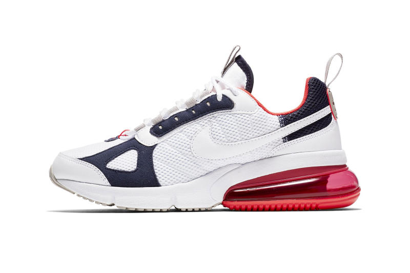 "Nike Air Max 270 Futura ""Red/White/Blue"" sneaker release date colorway price"