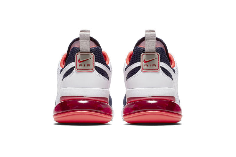 """Nike Air Max 270 Futura """"Red/White/Blue"""" sneaker release date colorway price"""
