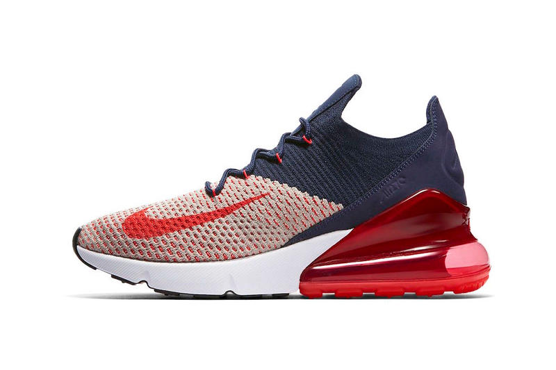 c6e85d0113 Nike Air Max 270 release Moon Particle College Navy Blackened Blue Red Orbit