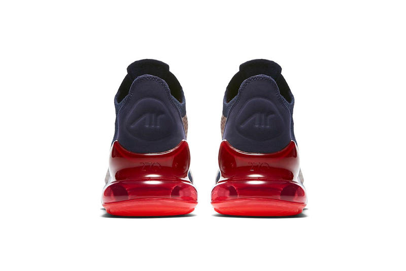 Nike Air Max 270 release Moon Particle College Navy Blackened Blue Red Orbit