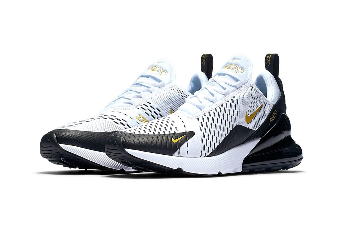 Nike Air Max 270 White/Gold/Black