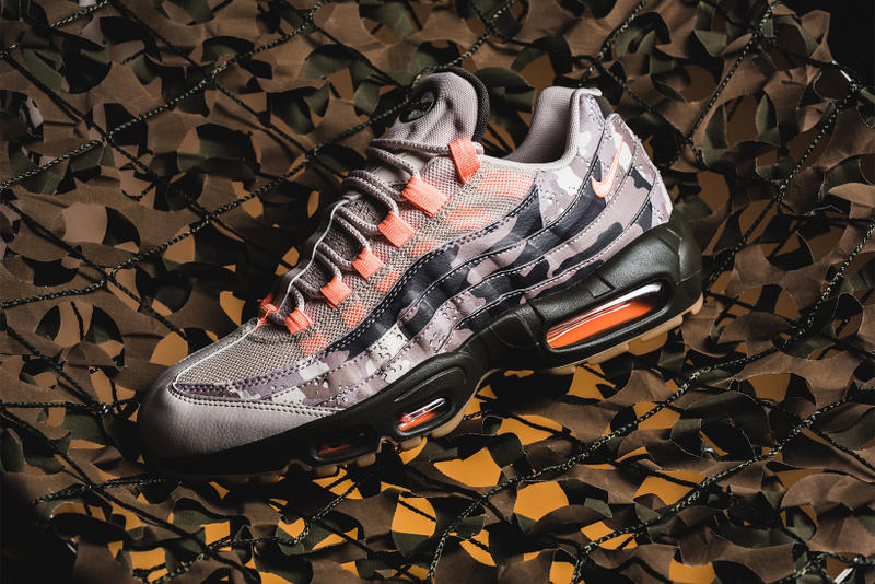 Nike Air Max 95 sunset tint desert sand
