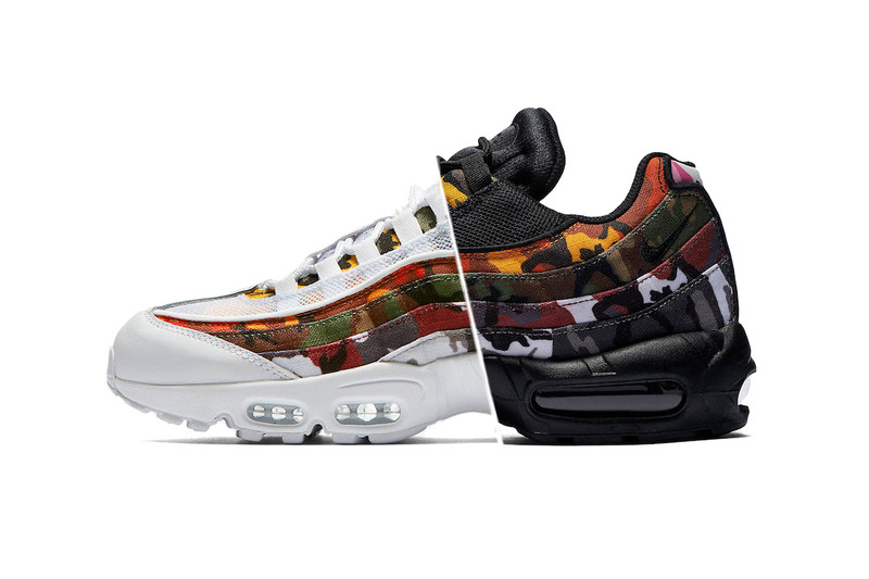 pretty nice 9ac24 d58e8 ERDL Camo Receives an Array of Colors in This Air Max 95 Pack
