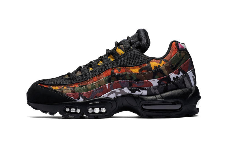 2a8994cd Nike Air Max 95 Multicolored ERDL camouflage Camo Pack AR4473-100  AR4473-100 black