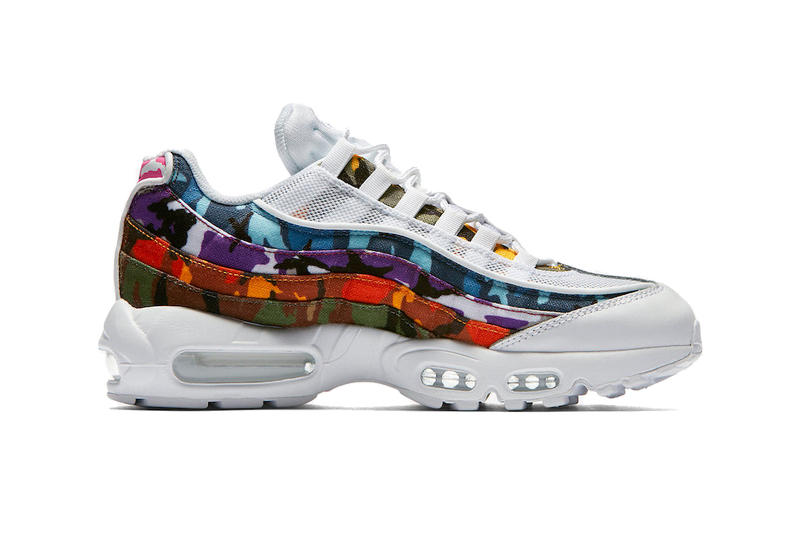 Nike Air Max 95 Multicolored ERDL camouflage Camo Pack AR4473-100 AR4473-100 black white suede nubuck leather mesh canvas