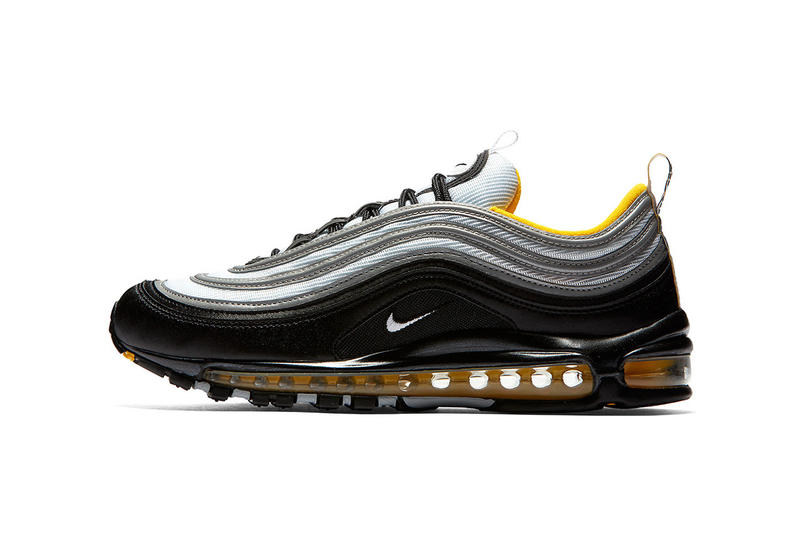 new arrival a7509 9c9f0 Nike Air Max 97 in Black, White, Yellow | HYPEBEAST