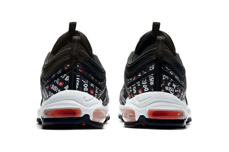 nike air max 97 just do it black total orange white 2018 footwear
