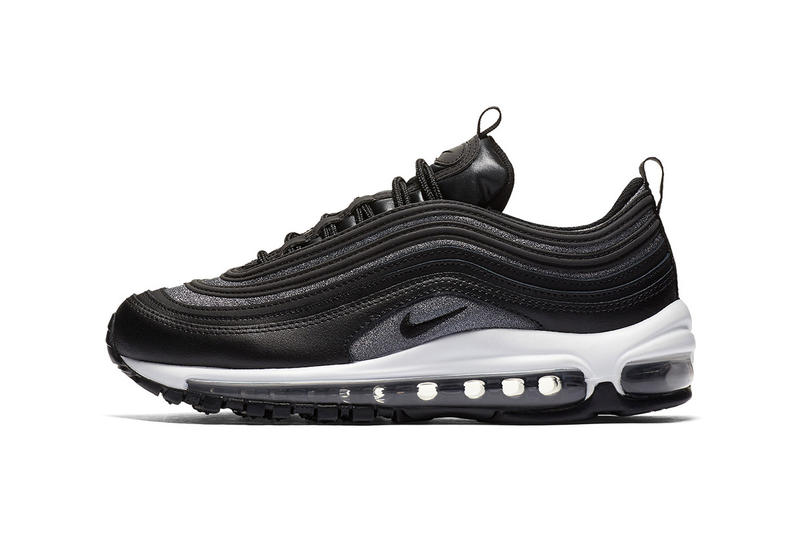 Nike Air Max 97 Premium Black And Grey Silver Hypebeast