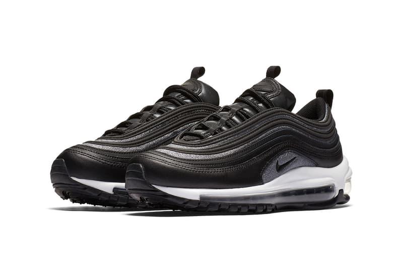 09fe31e772 Nike Air Max 97 Premium Black and Grey/Silver | HYPEBEAST