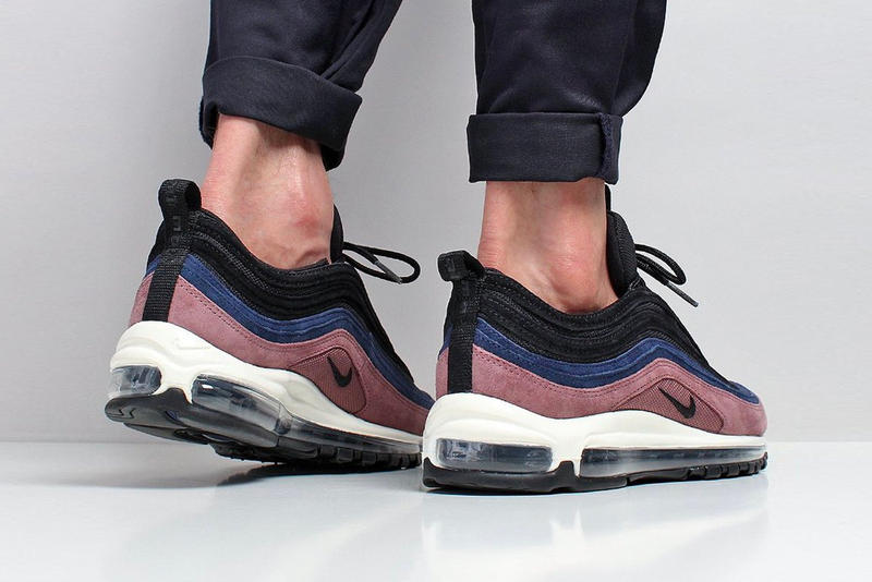 Nike Unveils Air Max 97 Smokey Mauve Black Midnight Navy Sail release info sneakers