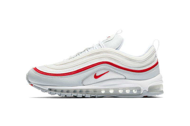 456a5c4704 Another crisp edition of the Nike Air Max 97 is on the way. Following its  black and yellow iteration, the Air Max 97 sees a white upper with a small  amount ...