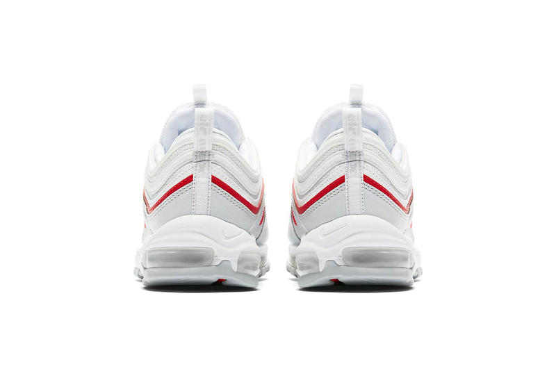 Nike Air Max 97 White Red Official Images Hypebeast