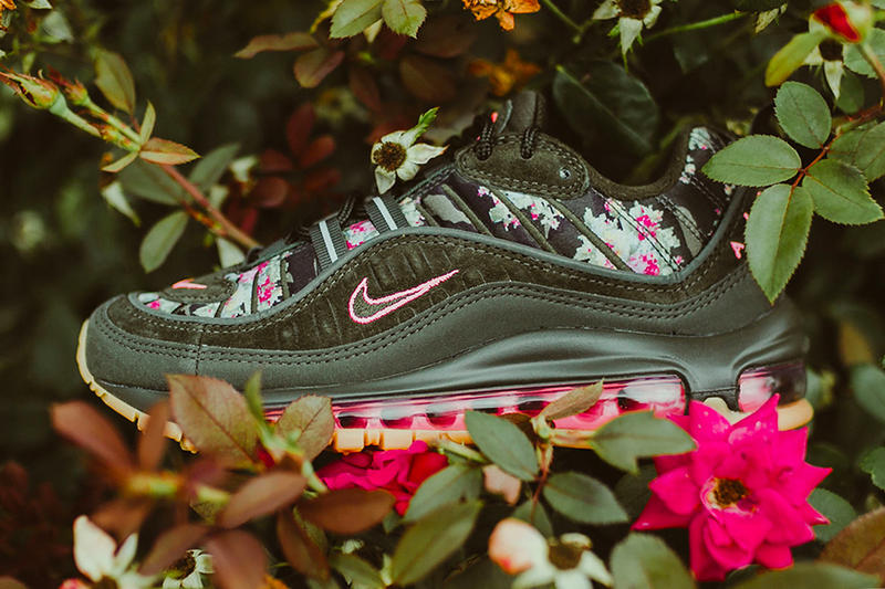 the best attitude 4b19a 932af nike air max 98 digi floral release