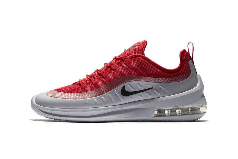 "Nike Air Max Axis ""University Red/Pure Platinum"" first look release date sneaker"