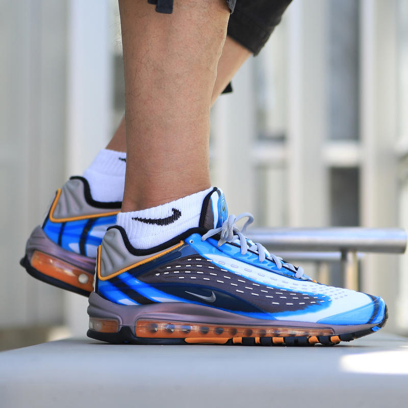 Nike Air Max Deluxe On Feet On Feet Look Closer Look On Foot