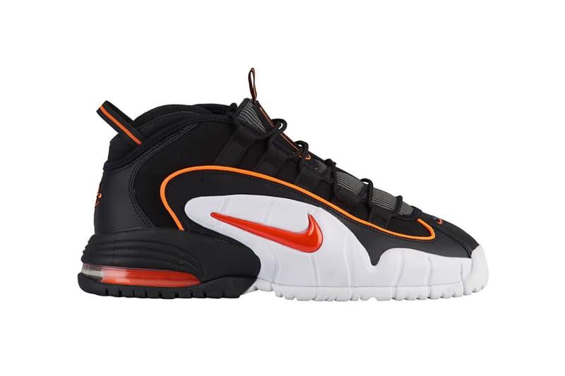 Nike Air Max Penny Black Total Orange