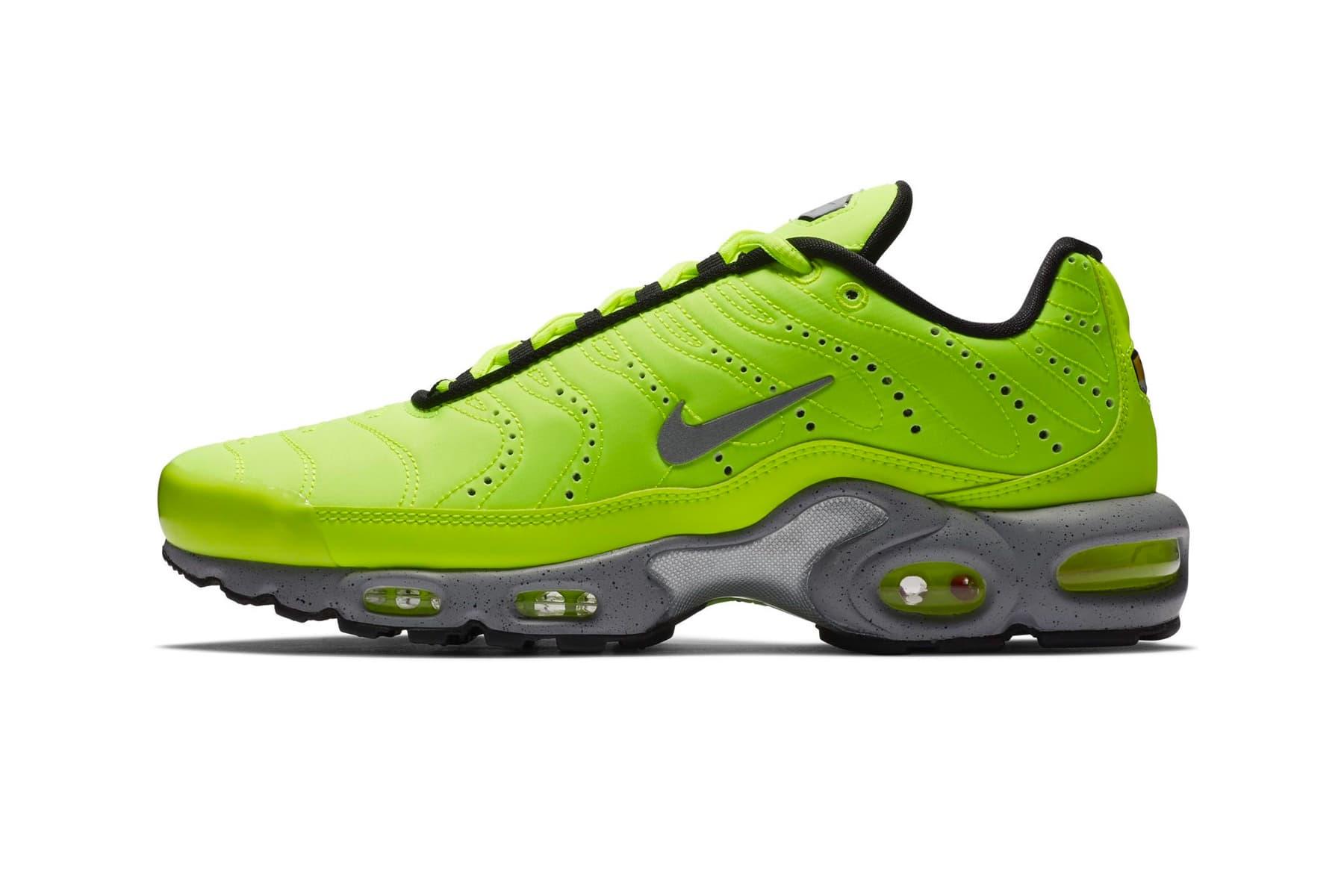 "Nike Set to Release a Premium Air Max Plus ""Volt"""