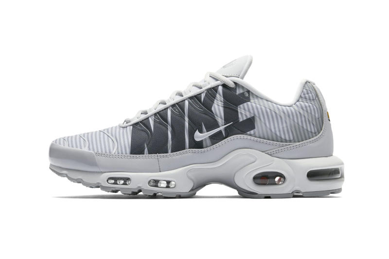 """pozo aeronave Cantina  Nike Air Max Plus """"Stripes"""" Grey Another Look 
