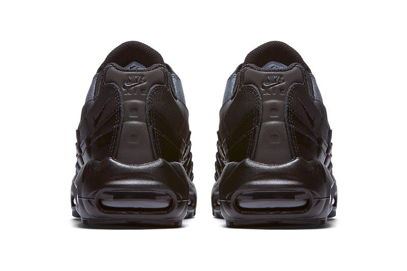 Nike Air Max 95 Premium Black Silver shimmer colorway sneaker footwear