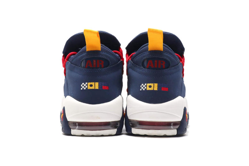 Nike Air More Money Nautical Redux pack drop release july 14 2018 release midnight navy flag sail gym red release