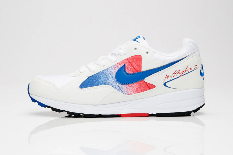 Nike Air Skylon II white red blue colorway retro Release info price purchase sneaker footwear Game Royal University
