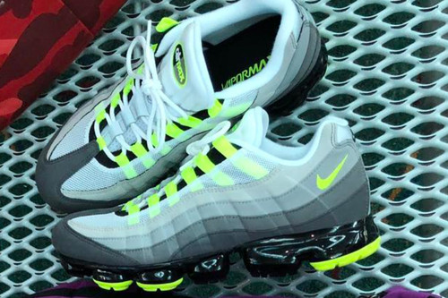 "Nike Readies the Release of the Air VaporMax 95 in OG ""Neon"""
