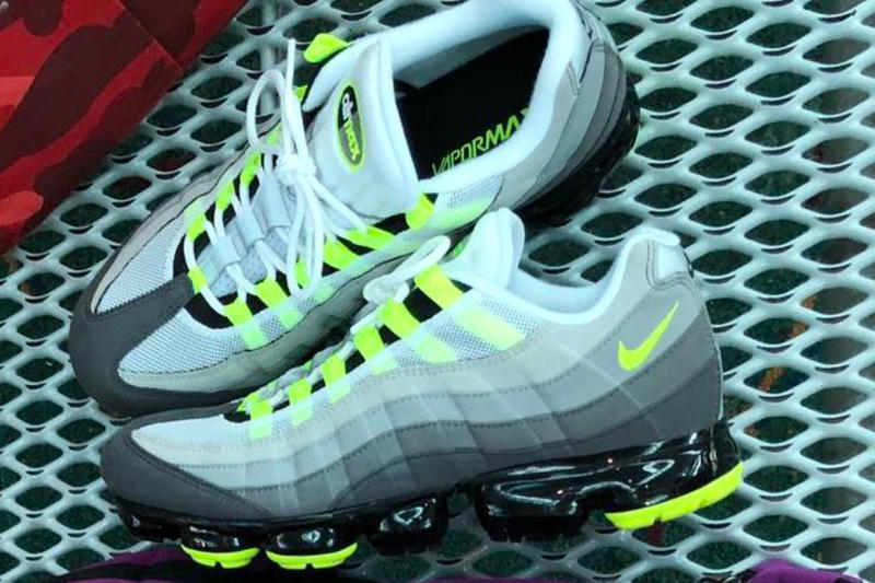 on sale 693ce 91bbe Another hybrid VaporMax iteration. Nike Air Max 95 OG Neon Fall 2018  release date info sneakers shoes footwear. 1 of 2.  SEAN WOTHERSPOON