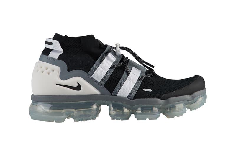 892225e0c5db Nike Air VaporMax Flyknit Utility Black Cool Grey Release Info