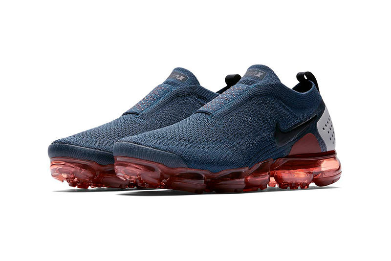 Nike Air VaporMax Moc 2 Gunsmoke Release Blackened Blue Thunder Grey Particle Rose Info Buy