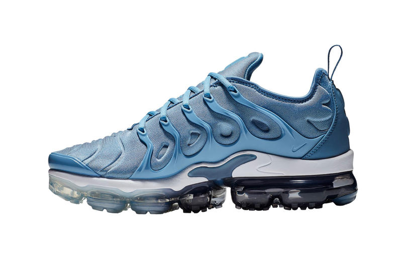 Nike Air VaporMax Plus Work Blue Cool Grey summer 2018 release sneakers footwear