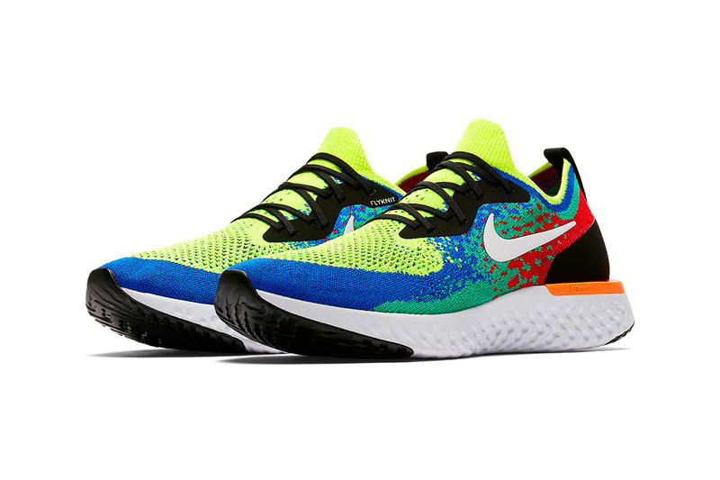 "Nike Epic React Flyknit ""Belgium"" Official images release date look price colorway sneaker"
