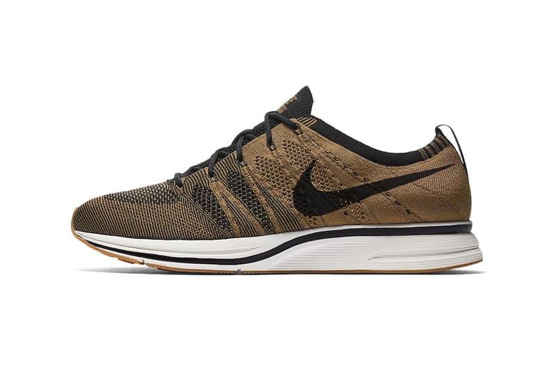 promo code 5d7d5 ae44b Nike Flyknit Trainer Golden Beige release info summer nike store sneaker  footwear