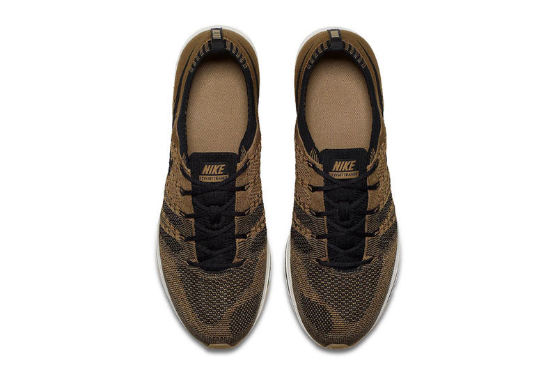 Nike Flyknit Trainer Golden Beige release info summer nike store sneaker footwear