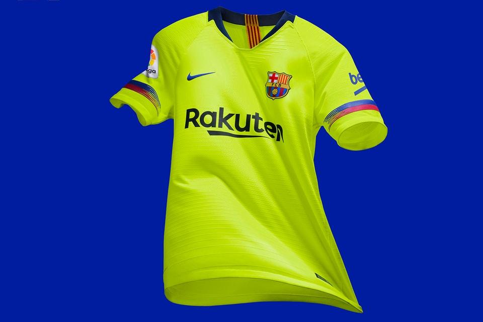 more photos 3c473 19b15 Nike FC Barcelona Away Kit 2018-19