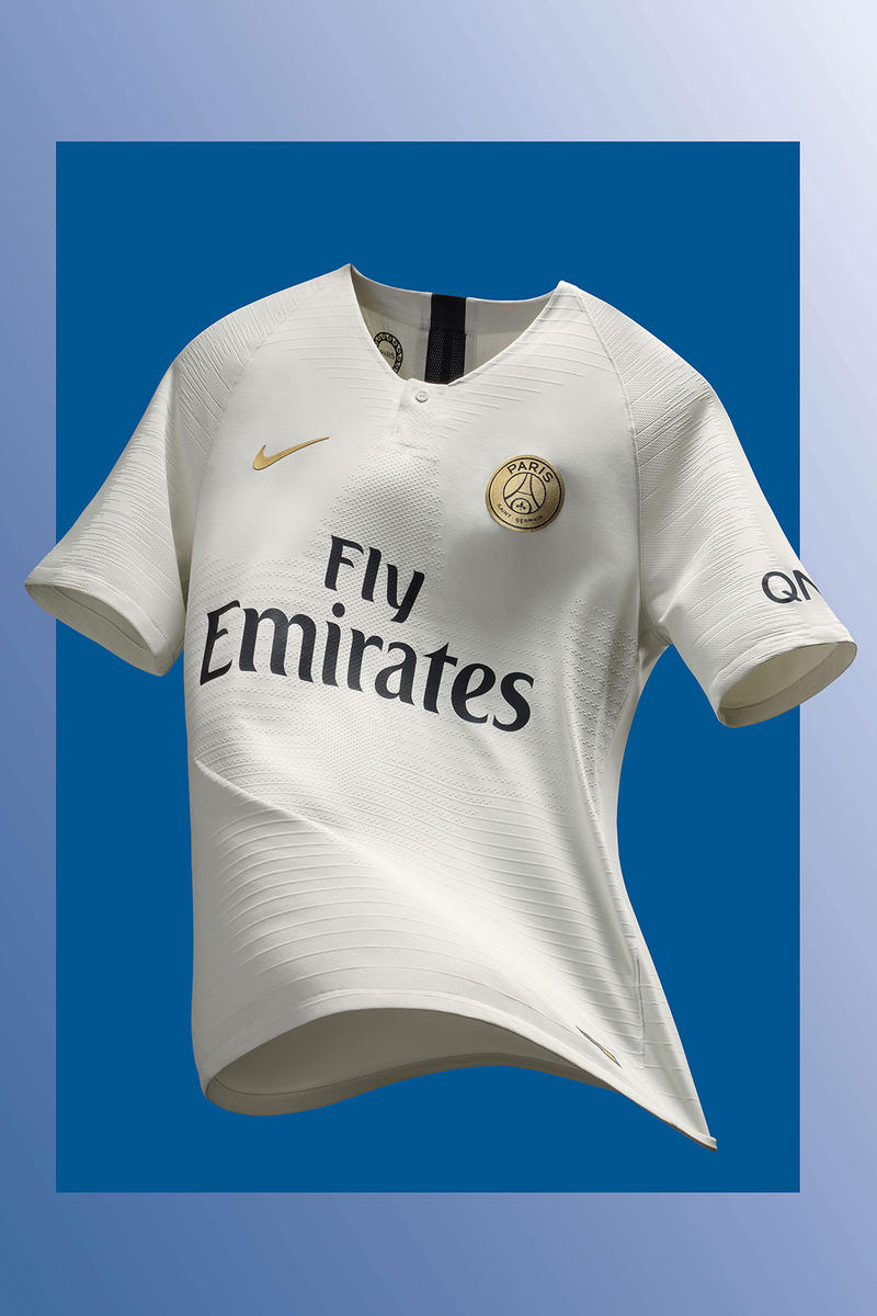Nike Football Paris Saint Germain 2018/2019 Away Kit Cop Purchase Buy Available Now Kylian Mbappe Neymar Jr Edison Cavani