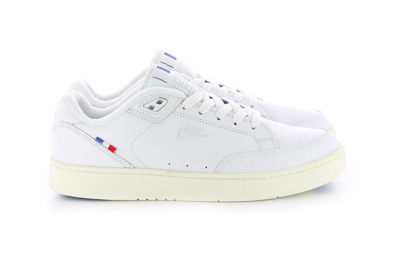 Nike Grandstand II Pinnacle French Flag Release white tennis sneaker tricolor price purchase online