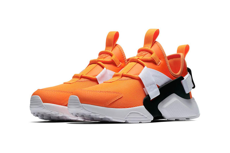 Nike Huarache City low just do it collection orange white black nike sportswear 2018 august footwear